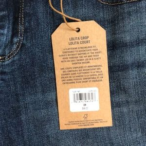 Brand New Lucky Jean Crop Ankle Jeans